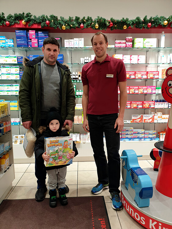 Gewinner Brunos Nikolaus-Rätsel ist Tarik Krantic (3 Jahre)